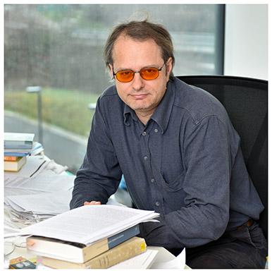 André Mach. Professeur associé à la Faculté des SSP. Photo Nicole Chuard © UNIL