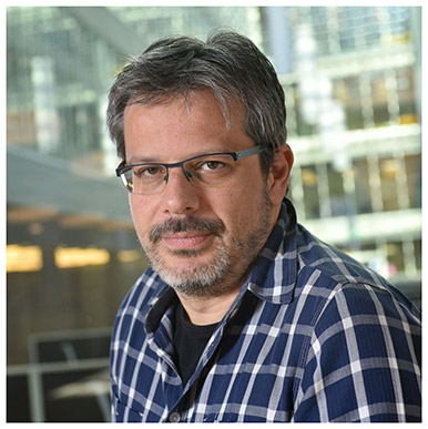 Olivier Glassey. Maître d'enseignement et de recherche à l'Institut des sciences sociales. Nicole Chuard © UNIL
