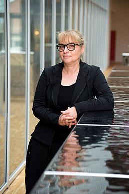 Danielle Chaperon. Professeure et vice-rectrice en charge de l'enseignement et des affaires étudiantes. Félix Imhof © UNIL