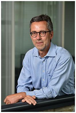 Alain Salamin. Chargé de cours à la Faculté des Hautes études commerciales. Nicole Chuard © UNIL