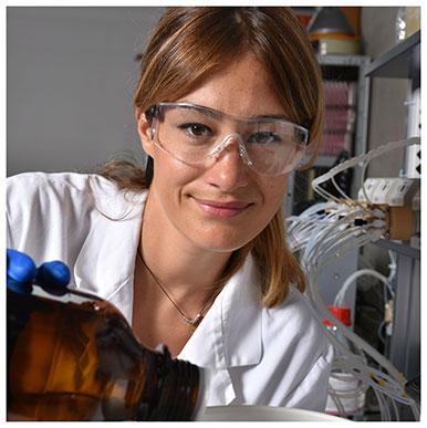 Lisa Benaglia. Assistante diplômée et doctorante à l'Ecole des sciences criminelles. Nicole Chuard © UNIL