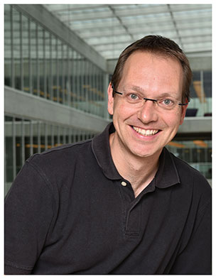 Sébastien Pilet. Maître d'enseignement et de recherche à l'Institut des sciences de la Terre. Nicole Chuard © UNIL