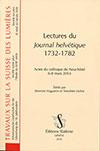 Lectures du «Journal helvétique» 1732-1782. Slatkine. (2016), 413 p.
