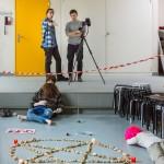 Lors du second jour de travaux pratiques, les étudiants ont travaillé sur le cas d'un suicide collectif au sein d'une secte. Photo F. Ducrest © UNIL