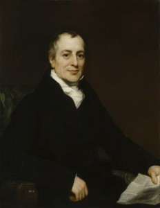David Ricardo. Thomas Phillips (environ 1821), huile sur toile, 91.7 cm x 71 cm