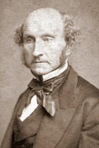John Stuart Mill, portait par John Watkins, 1865
