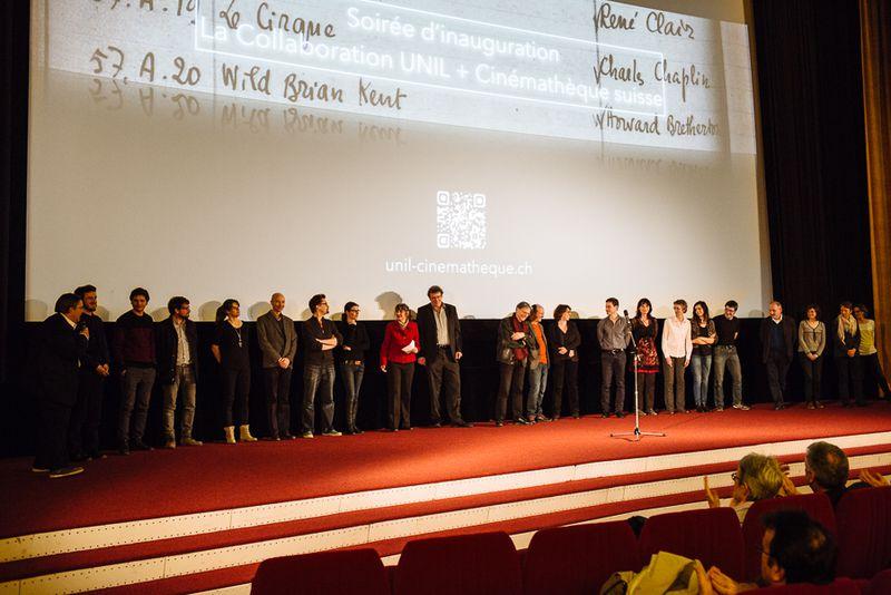 Soirée d'inauguration de la Collaboration UNIL + Cinémathèque suisse