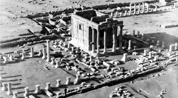 Le temple de Baalshamîn