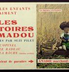 Affiche publicitaire pour « Les Histoires d'Amadou », 1954 (fonds Amadou, CLSR / © Suzi Pilet)