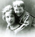 Georges Borgeaud et sa mère Ida (CLSR)