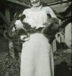 Madeleine Roud, photographie de Gustave Roud (fonds G. Roud, CLSR / © AAGR)