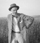 René Auberjonois photographié par Gustave Roud, début des années 1930 (fonds R. Auberjonois, CLSR / © AAGR)