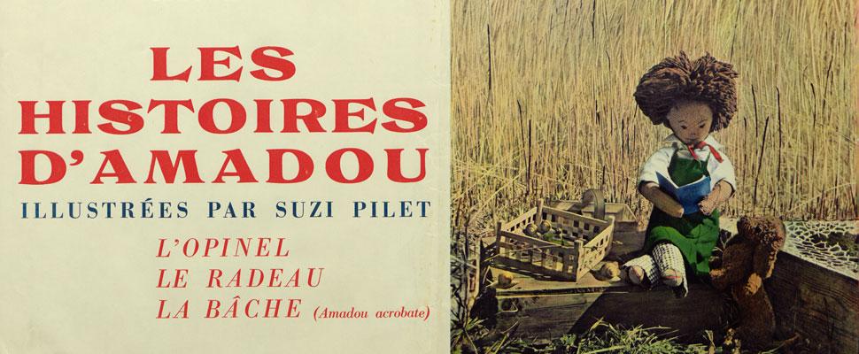 Amadou, Pilet Peiry, photographe romand, CLSR, fonds d'archives, littérature
