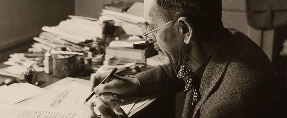 Ramuz, écrivain suisse romand, CLSR, fonds d'archives, manuscrit, littérature