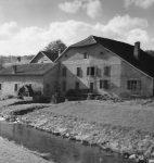 Le moulin de Lussery, photographie de Gustave Roud, 1934 (fonds Daniel Simond, © BCUL)
