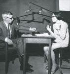 Jean-Pierre Monnier au cours d'une interview, 8 octobre 1970 (fonds J.-P. Monnier, CLSR)