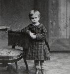 René Auberjonois âgé de trois ans (fonds R. Auberjonois, © CLSR)