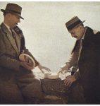 H.-L. Mermod et C. F. Ramuz à Lavaux, 1932, photographie de Gustave Roud (fonds G. Roud, CLSR / © AAGR)