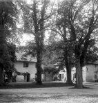 La dépendance du Grand-Malagny, une des maisons d'enfance de Guy de Pourtalès (fonds G. de Pourtalès, CLSR)