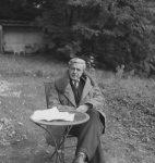 Géa Augsbourg, photographie d'Henry-Louis Mermod (fonds H.-L. Mermod / CLSR)