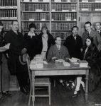 Guy de Pourtalès à la Librairie Gallimard, 1926 (fonds G. de Pourtalès, CLSR)