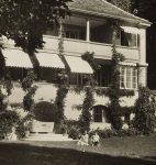 Fantaisie, la maison lausannoise d'Henry-Louis Mermod (fonds Gustave Roud, CLSR / © Musée de l'Elysée, Lausanne)