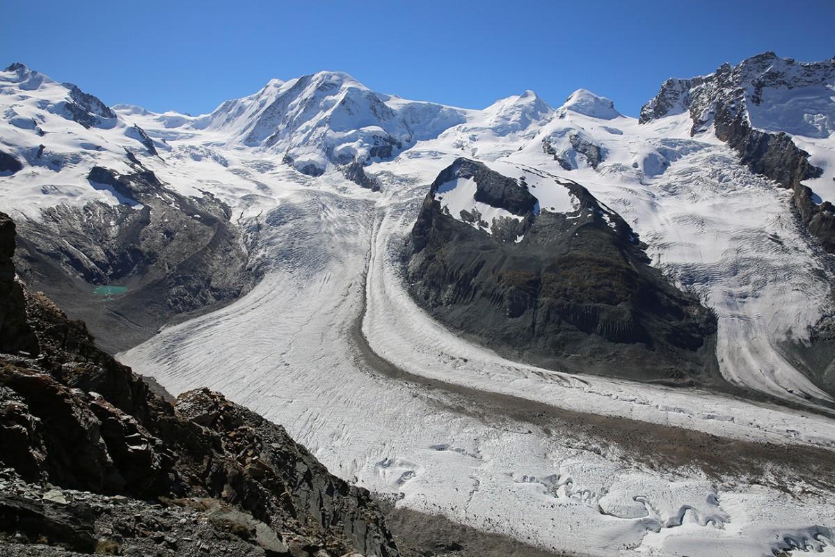 Gorner Glacier, Monte Rosa,