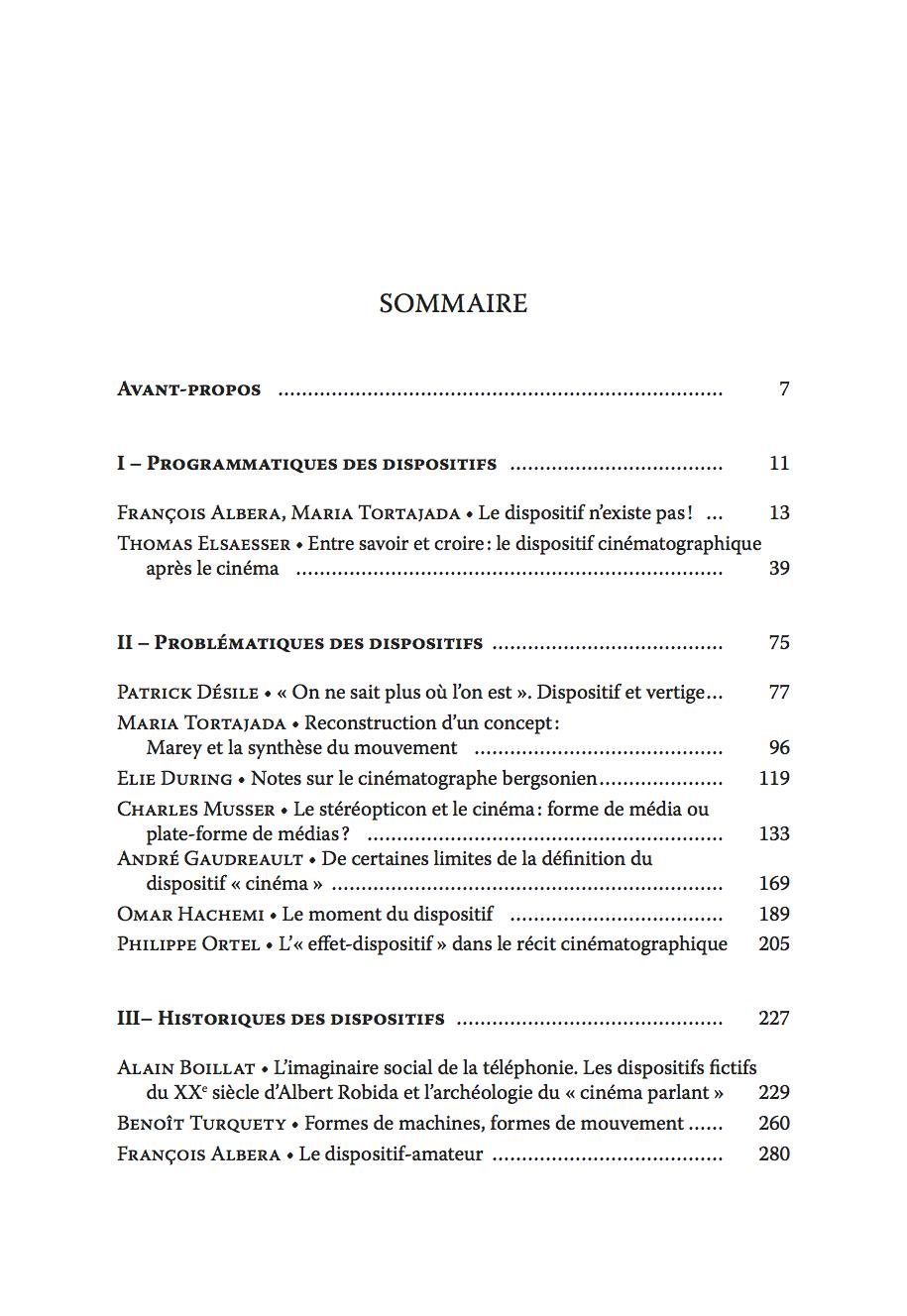 Ciné-dispositifs_Table_des_matières - copie