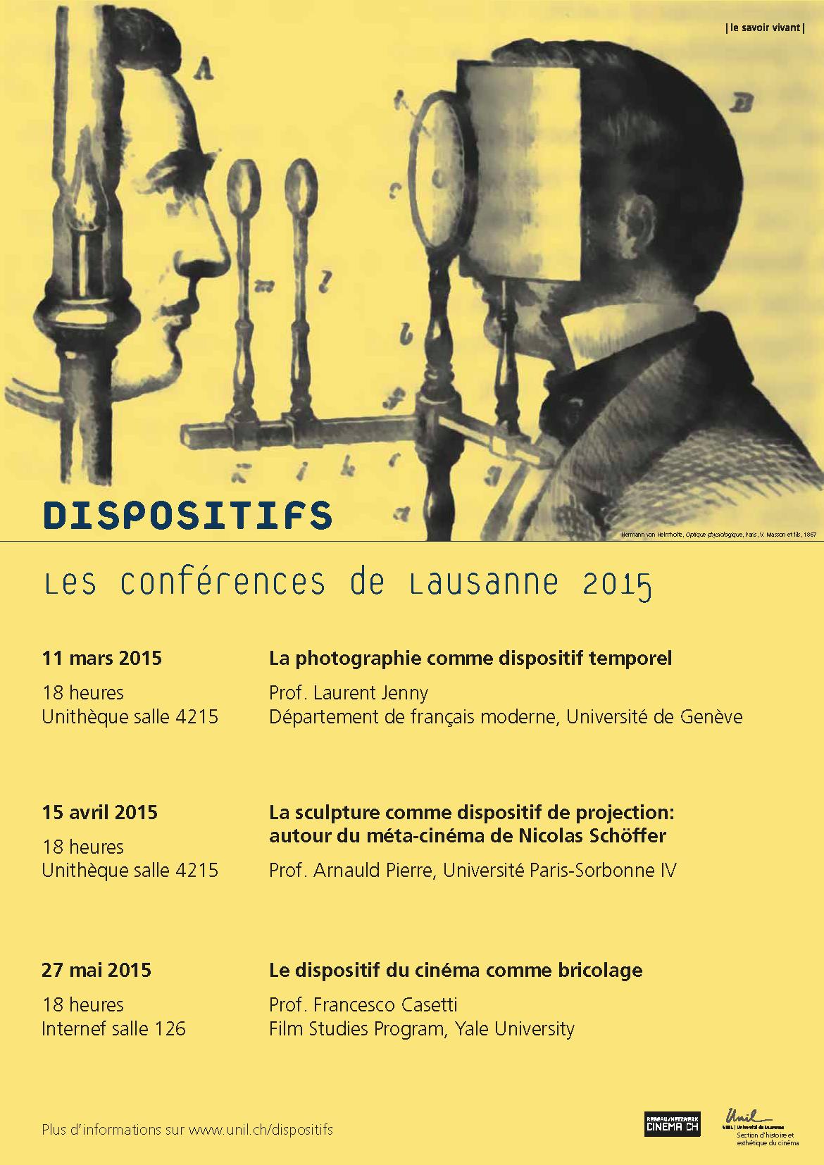 Dispositifs 2015