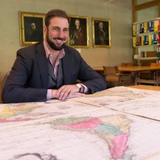 Portrait de Roberto Zaugg, boursier Ambizione en Section d'histoire