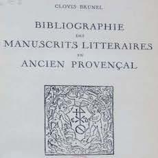 Nouveau projet de recherche: « Répertoire critique des manuscrits littéraires en ancien occitan » (2021-2025)