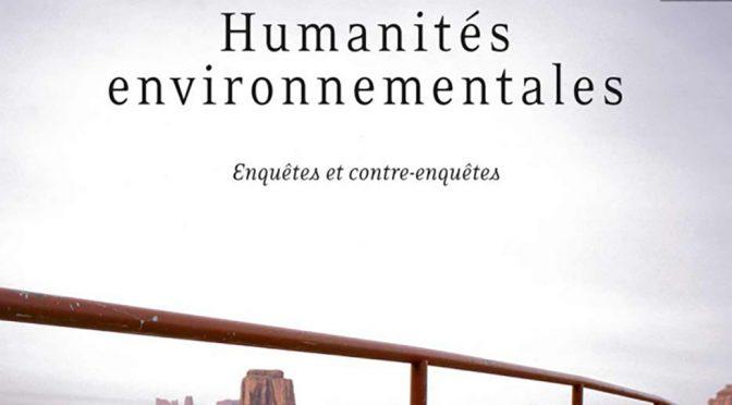 Nature, environnement, écologie : l'émergence de la Political ecology dans un contexte de crise écologique