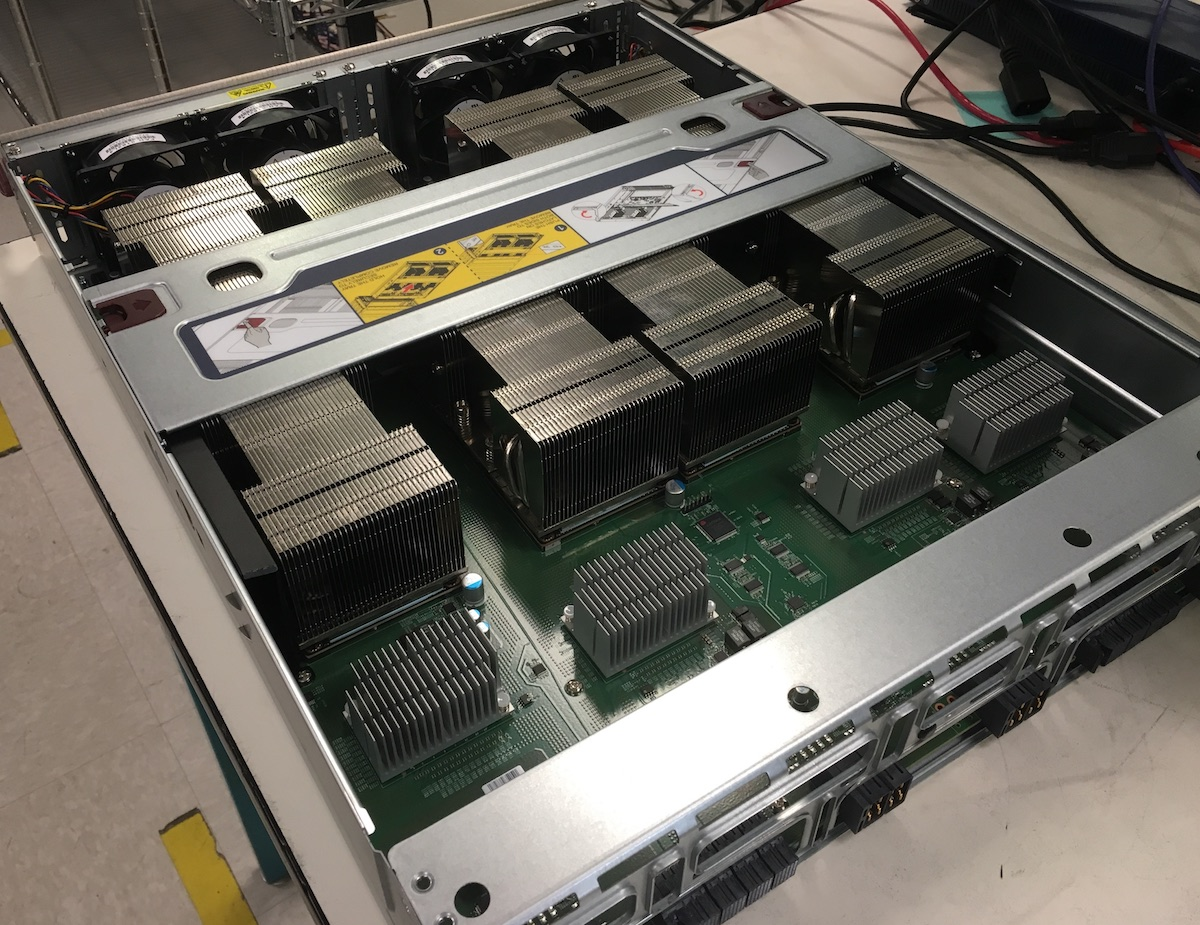 Tesla V100 Nvlink GPU node – Swiss Geocomputing Centre