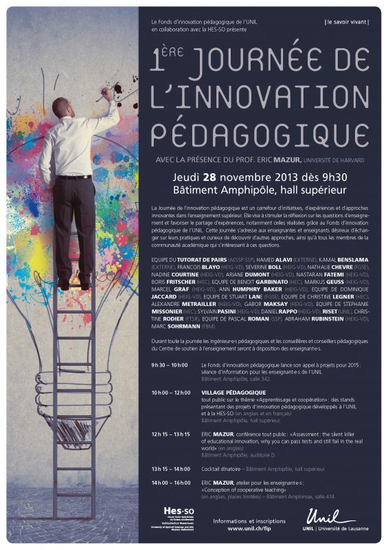 Journée de l'innovation pédagogique 2013