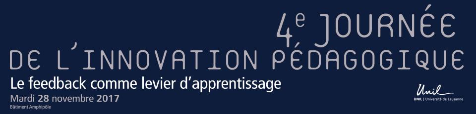 UNIL – Journée de l'innovation pédagogique (JIP)