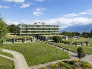 Biophore building located close to lake Geneva Fabrice Ducrest © UNIL