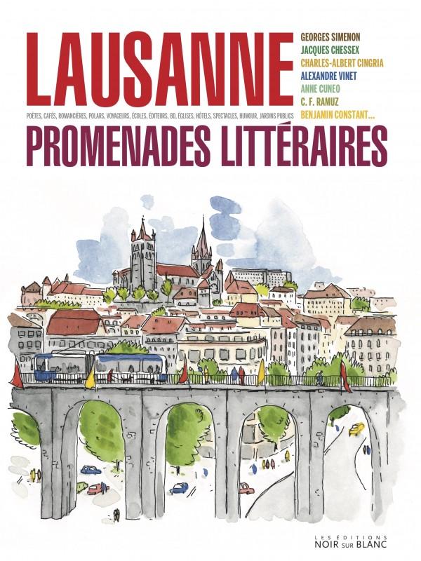 Lausanne, promenades littéraires