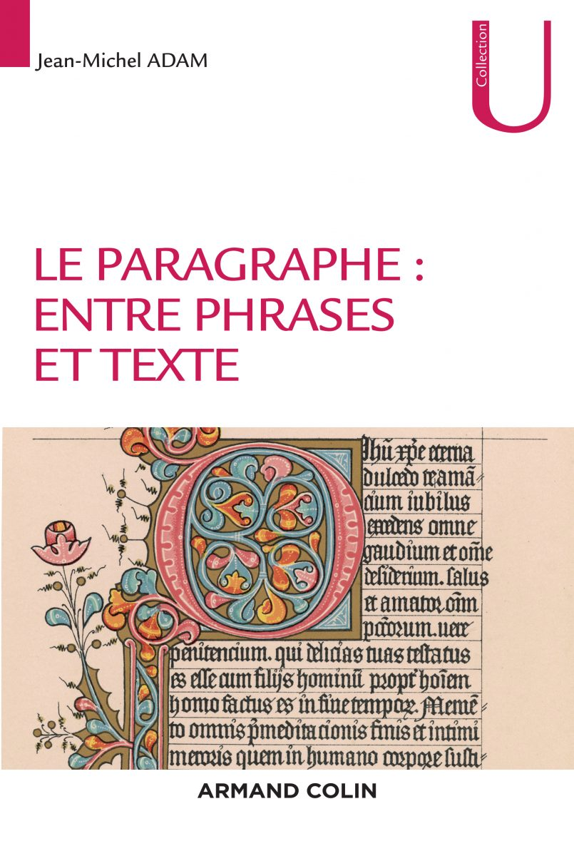 Le paragraphe : entre phrases et texte