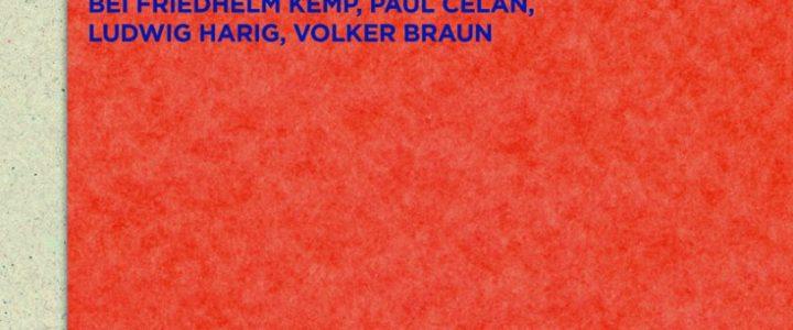 Poetische Interaktion. Französisch-deutsche Lyrikübersetzung bei Friedhelm Kemp, Paul Celan, Ludwig Harig, Volker Braun