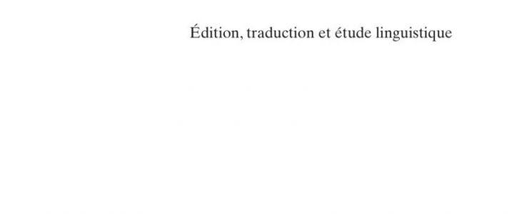 Le Mariale lyonnais (Paris, BNF, fr. 818). Édition, traduction et étude linguistique