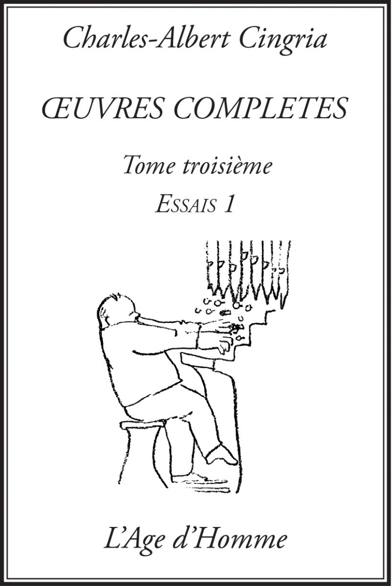 Charles-Albert Cingria, Œuvres complètes