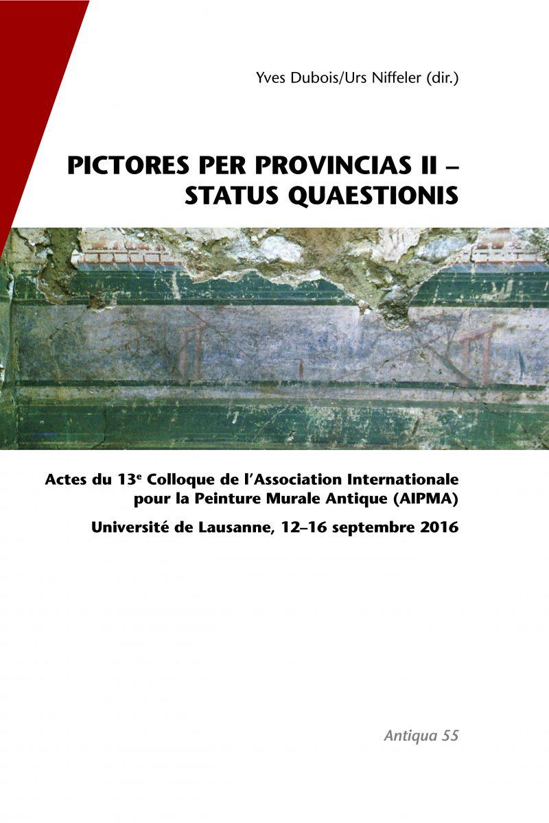 Pictores per provincias II – status quaestionis