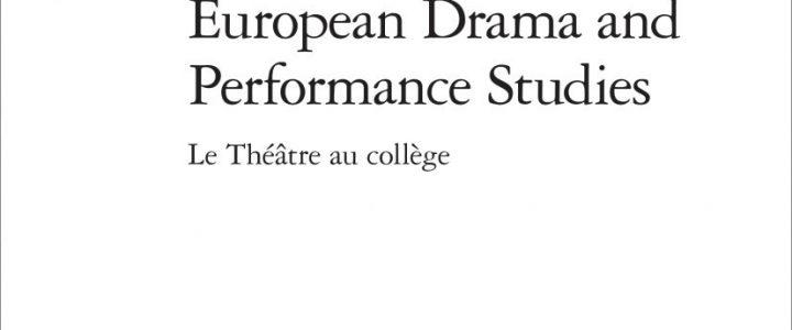 Le Théâtre au collège