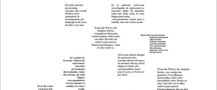 Le « Cours de linguistique générale » : réception, diffusion, traduction