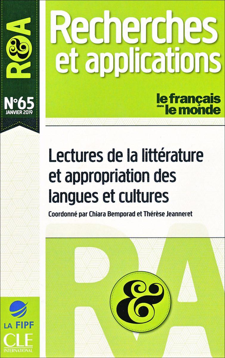 Lectures de la littérature et appropriation des langues et cultures