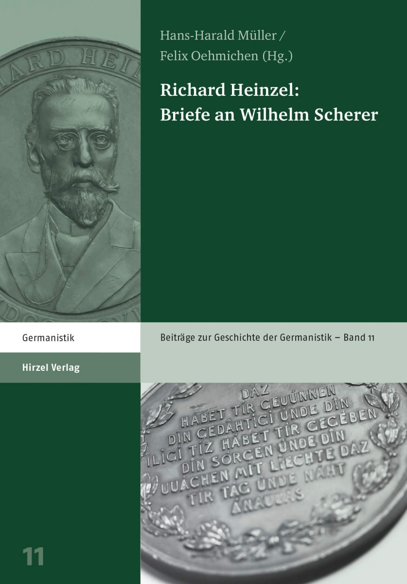 Richard Heinzel: Briefe an Wilhelm Scherer