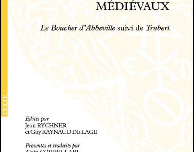 Deux contes à rire médiévaux. « Le Boucher d'Abbeville », suivi de « Trubert »