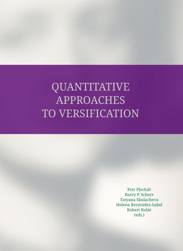 Quantitative Approaches to Versification