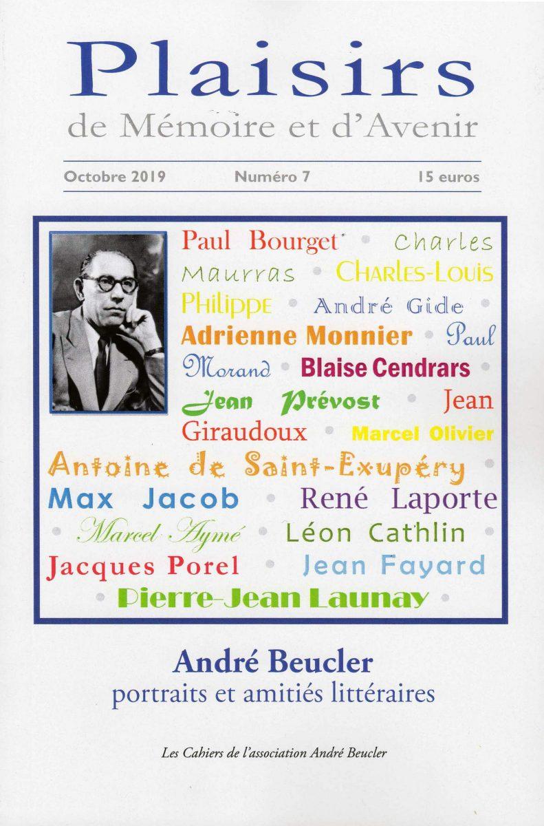 André Beucler: portraits et amitiés littéraires