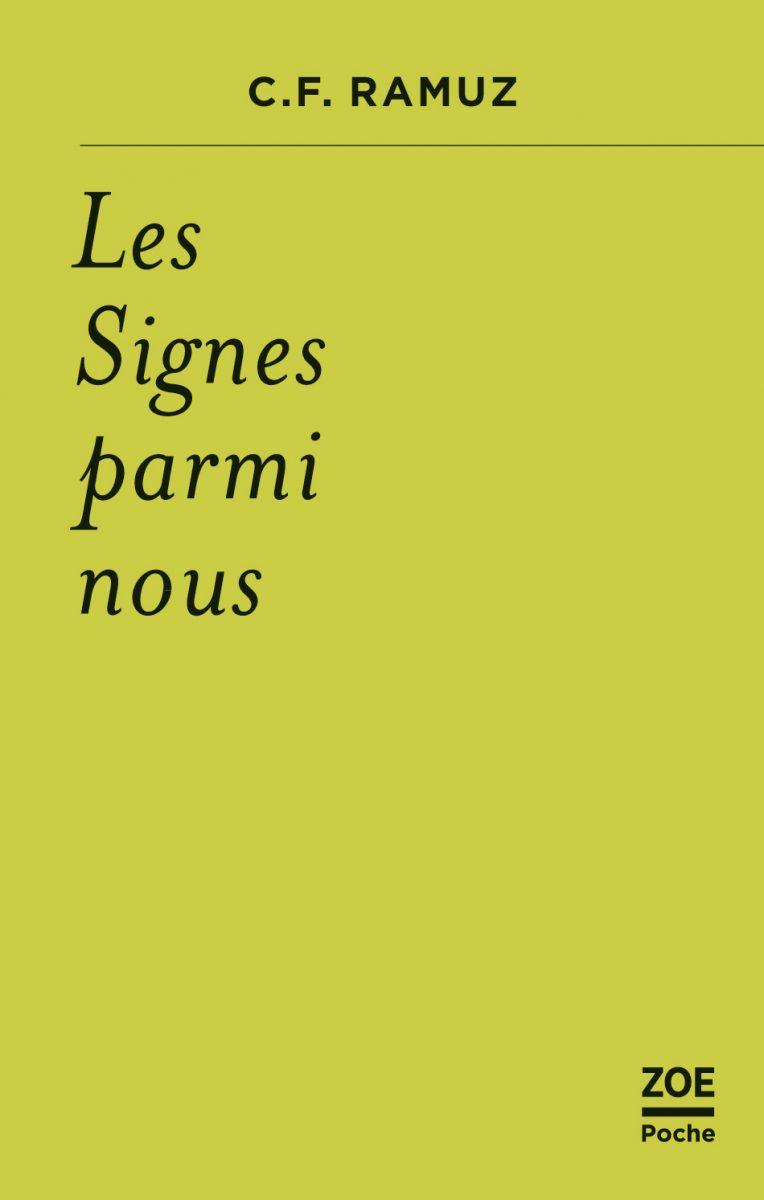 C. F. Ramuz, Les Signes parmi nous